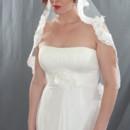 130x130 sq 1416634973605 floral leaf scallop lace veil