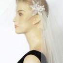 130x130 sq 1465180151787 cap veil with applique side close 2