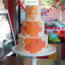 130x130 sq 1404405390630 honeycomb wedding cake 2