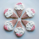 130x130 sq 1404405980634 ice cream cone cookies 1 wmkd