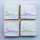 130x130 sq 1404406089045 cursive love cookies 1 wmkd