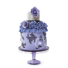 220x220 sq 1404404111786 blackberry dot wedding cake whipped bakeshop