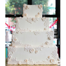 220x220 sq 1404405241535 floral lace wedding cake main