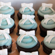 220x220 sq 1404405783012 party bow cupcakes 2 wmkd