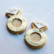 220x220 sq 1404405936228 diamond ring cookie gold 5