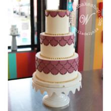 220x220 sq 1404412585203 art deco wedding cake