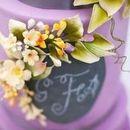 130x130 sq 1476296681 c82e2bf2a7c452d6 w9229 purple wedding cake toronto4
