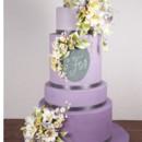 130x130 sq 1476370644681 w9229 purple ombre chalkboard wedding cake toronto
