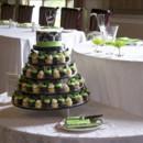 130x130 sq 1476370763232 3black white green wedding cupcake tower