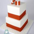 130x130 sq 1476370856554 2 w9160 square ring box engagement cake toronto oa