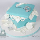 130x130 sq 1476370922231 14 bc4234 tiffany box cake toronto oakville