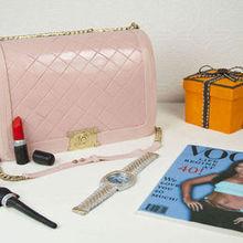220x220 sq 1476297092 21cf30270f3cb6c2 n1366a pink chanel purse birthday cake toronto
