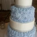 130x130 sq 1490381210781 lightblue white wedding cake
