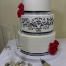 130x130 sq 1490559469651 white  black wedding cake