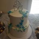 130x130 sq 1490559518975 two tier round wedding cake