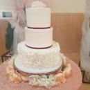 130x130 sq 1490559554364 petal ruffles wedding cake