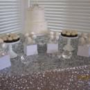 130x130 sq 1490723281567 silver  white wedding cake