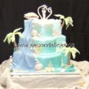 130x130 sq 1455744186089 beach ocean blue green wedding cakes cupcakes bake