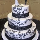 130x130 sq 1455744209431 blackwhiteweddingbirthdayweddingedmontoncakescupca