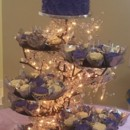 130x130 sq 1455744625970 purple roses cupcakes tower stand wedding stargaze