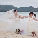 130x130 sq 1463694449318 bride flower girl beach wedding