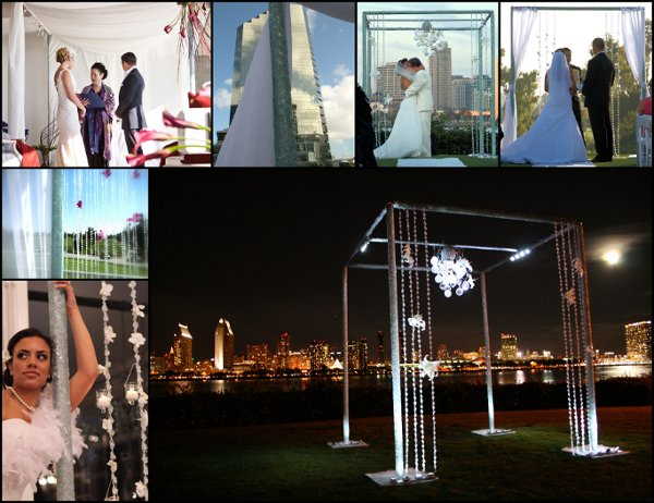photo 12 of Artistic Arch & Chuppah Rentals by Arc de Belle