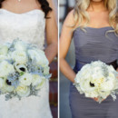 130x130 sq 1416523247063 white and gray bridal bouquets