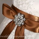 130x130 sq 1276119882725 brownweddingdresssash