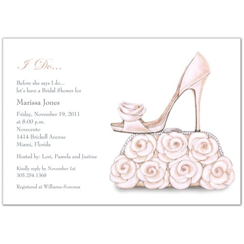 Pink White Fall Invitations Spring Summer Winter Wedding