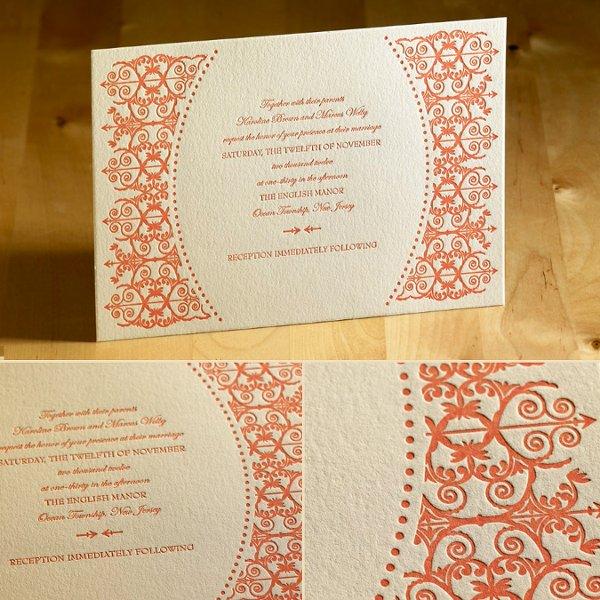 Fort Lauderdale, FL Wedding Invitation