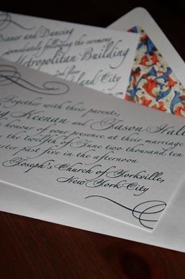 Wedding Invitations by Natalie