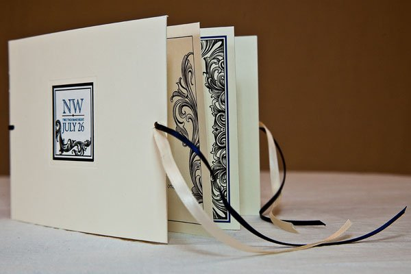 photo 3 of à deux: bespoke bridal paper