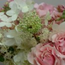 130x130 sq 1377047268428 bridal bouquet with hydrangea and spray roses