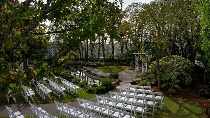Doubletree by hilton los angeles downtown kyoto gardens venue los angeles ca weddingwire Garden wedding venues los angeles