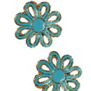 130x130 sq 1426283614835 shoe clips flower power turq5