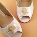 130x130 sq 1426283987878 shoe clips vintage floral faux pearl 5