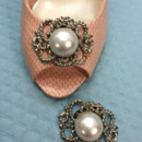 130x130 sq 1426284231374 shoe clips vintage musi roped filigree silver pear