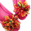 130x130 sq 1426284890068 shoe clips chiffon carnival stripes on pink