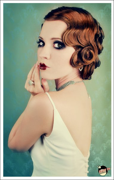 Down Fall Updo Winter Wedding Hair & Beauty Photos & Pictures ...