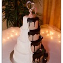 130x130 sq 1384970579894 butter cream chocolate and fudge wedding cak