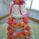 130x130 sq 1384971138044 wedding cupcakes orange and pin