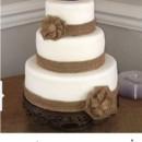 130x130 sq 1477614279126 burlap wedding cake