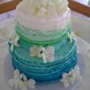 130x130 sq 1477614829912 ombre ruffle wedding cake