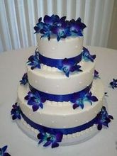 220x220 1477613372 369d3b7f96aa2f1e electric blue orchid cake with dotted swiss design