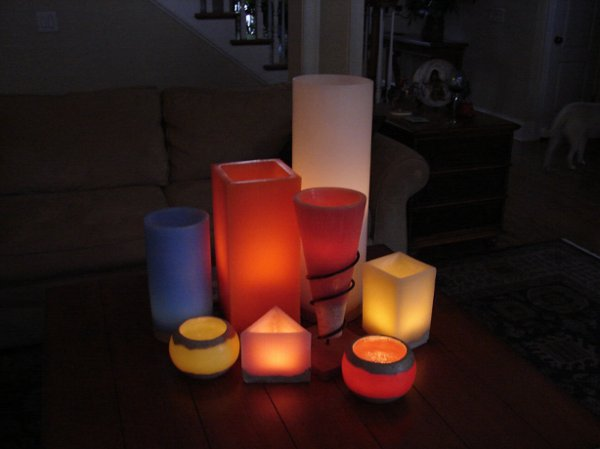 photo 1 of Luminari Candles - Elegant Touch of Light!