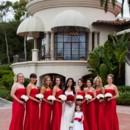 130x130 sq 1369338174456 red bridesmaid dress