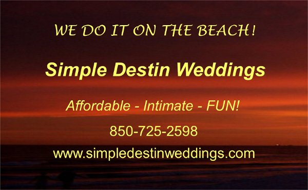photo 3 of Simple Destin Weddings