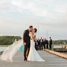 220x220 sq 1512443694836 coonamessett inn sunset wedding cape cod shoreshot