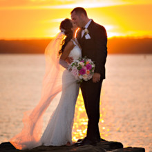 220x220 sq 1512443830932 coonamessett inn wedding cape cod sunset shoreshot