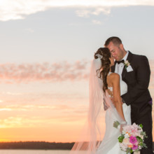 220x220 sq 1512443882177 coonamessett inn wedding cape cod sunset shoreshot